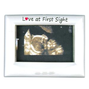 Ultra Sound Frame Personalized Christmas Ornaments Decoration